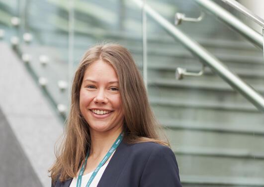Astrid Haderlein quickly found a job i Norway