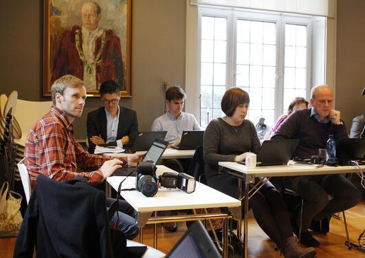Styremøte om felles universitetsavis