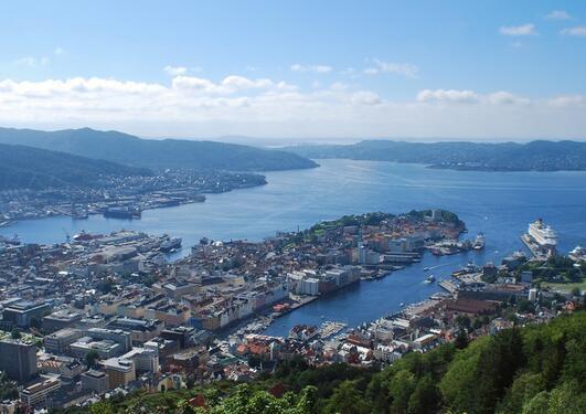 Bergen, Aapo Haapanen