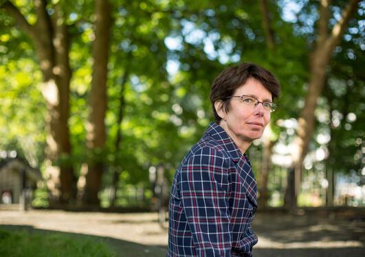 Vice-Rector for International Affairs at UiB, Anne Christine Johannessen, portrait