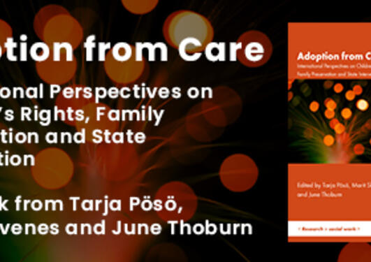 Adoption from Care book cover.