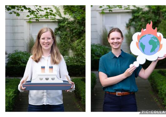 Forsker Grand Prix 2021 Agnete Hessevik og Thea Gregersen