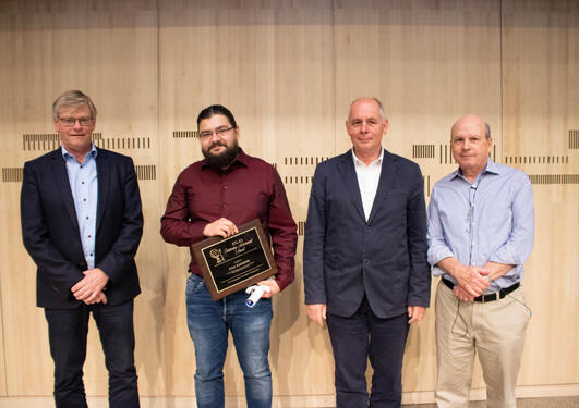 Alex Kastanas tildeles ATLAS-pris