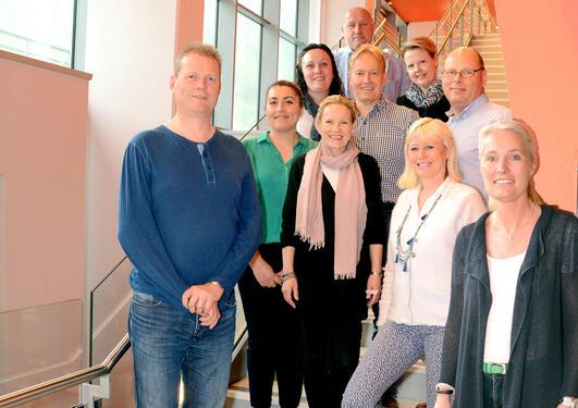 Bildet viser gruppen som arrangerer konferansen