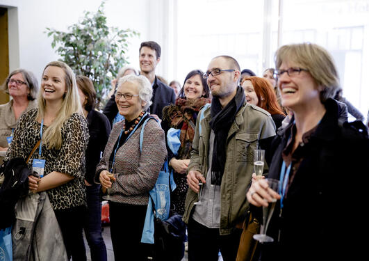 UiB alumni gathered at the 2014 UiB alumni day.