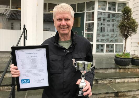 Anders Bærheim hederspris 2019