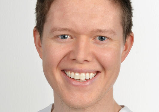 Odontologi-alumn Anders Røsland