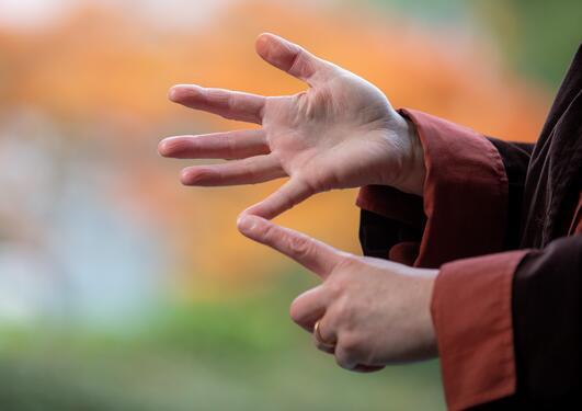 Telle på fingrene