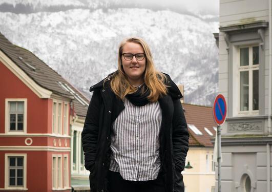 Caritha Håland studerer praktisk-pedagogisk utdanning (PPU)
