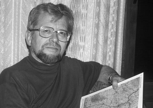 Geografen Arnfinn Seim.