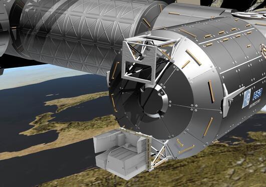 ASIM på ISS