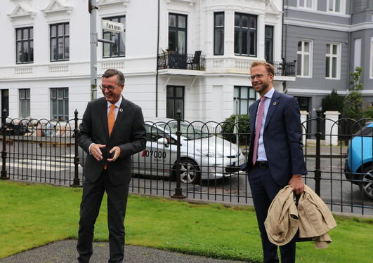 Dag Rune Olsen og Nicolai Astrup