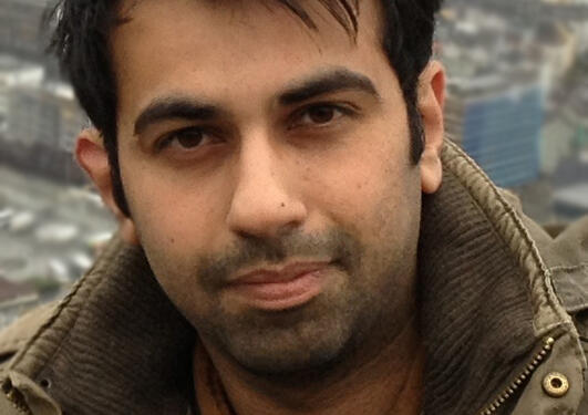 Portrait of Waqas Azeem
