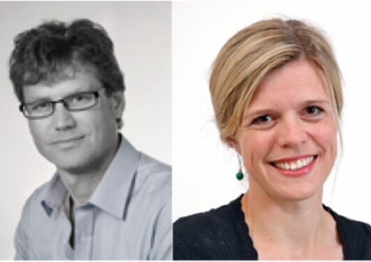 Bjarne Robberstad og Ingrid Miljeteig