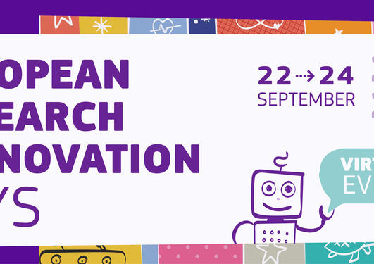 poster for EUs Research and Innovation Days  2020