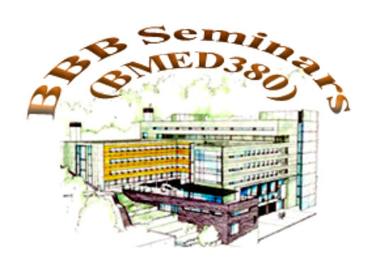 Logo for the BBB Seminars - Drawing of the BB Building