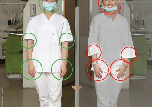 Retningslinjer for smittevern ved de odontologiske læresteder i Norge