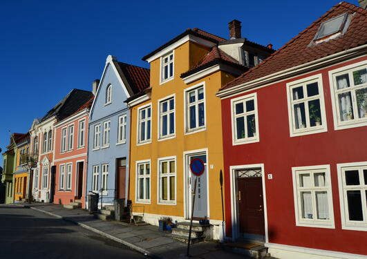 Houses at Klosteret, Nordnes.