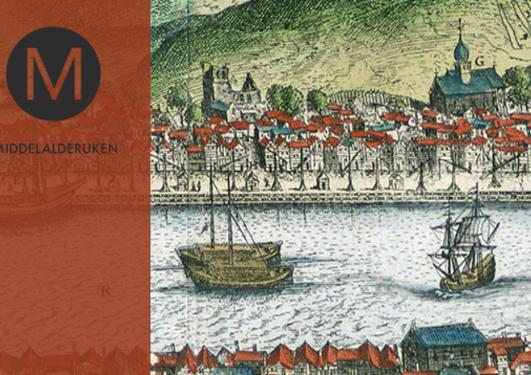 Bilde av et utsnitt fra Scholeusstikket 1580