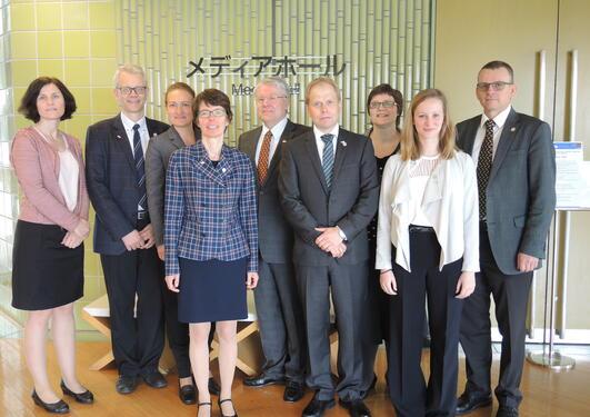 Gruppefoto av deltakerne fra Bergen
