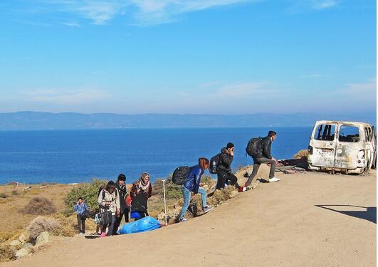 Syriske flyktninger