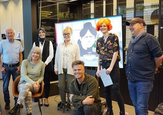 Bilde av deltagere i prosjektet