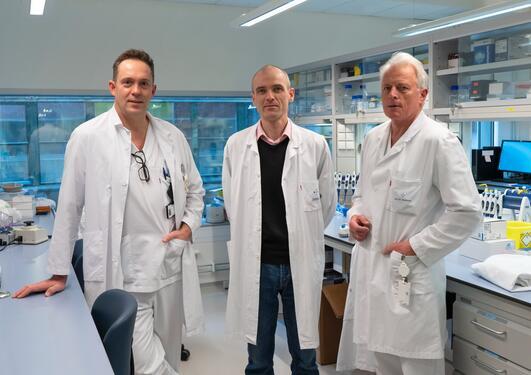 Kreftforskere ved UiB og Haukeland sykehus