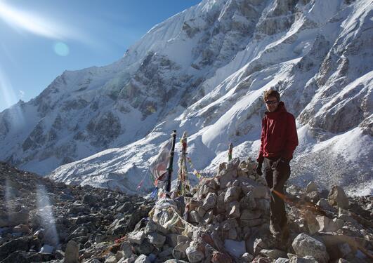 Pål Ringkjøb Nielsen i Himalaya
