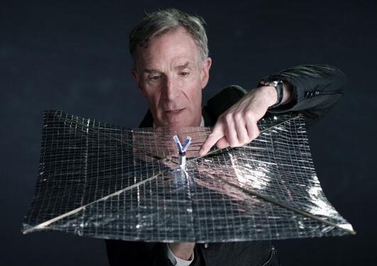 Portrett av Bill Nye
