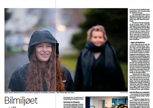 Faksimile Bergen Tidende 8. desember 2020