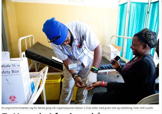 Bistandsaktuelt HIV Uganda