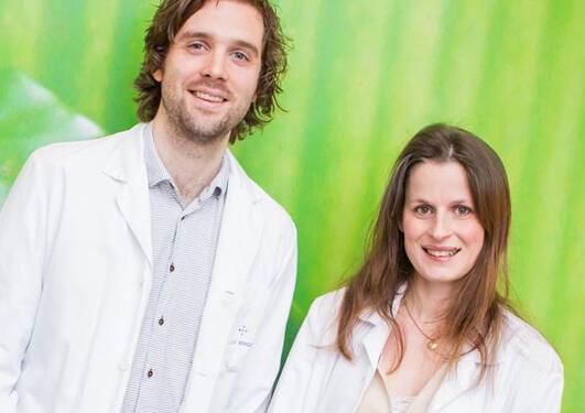 Marte Helene Berg og Eivin Kolstad