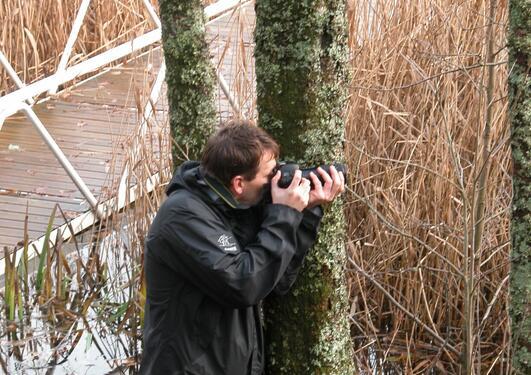 Fotograf i aktivitet