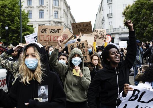 demonstrasjon i Oslo