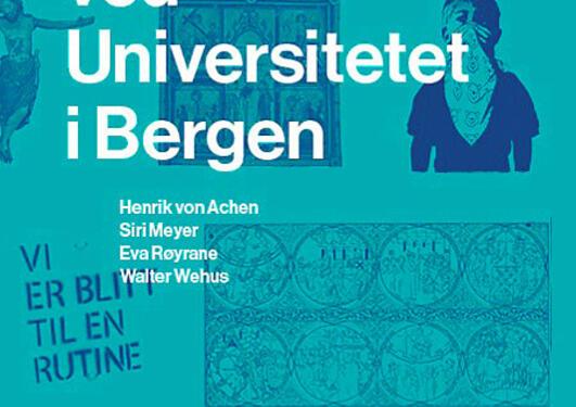 Bilde av boken Kunst og arkitektur ved Universitetet i Bergen
