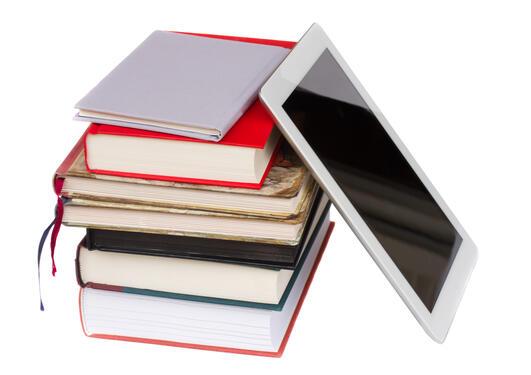 Bunke med bøker