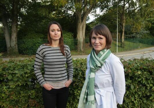 Anne-Sophie Schillinger og Christine Stansberg er koordinatorene for den nye forskerskolen NORBIS.