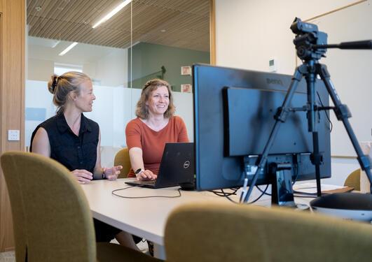 Katja Enberg and Gabriella Ljungström, BSRS 2021