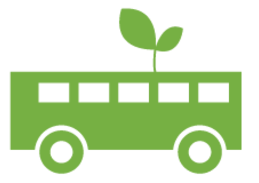 Grønt UiB Buss Logo