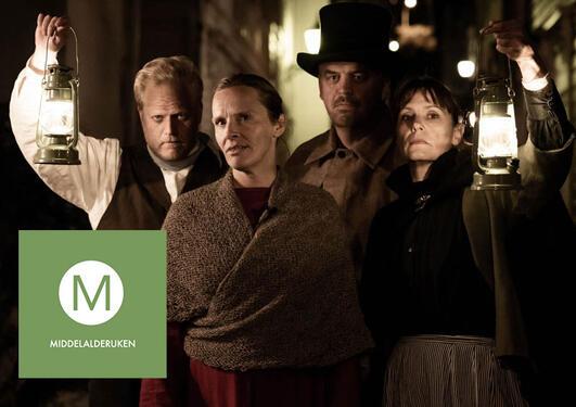 Blant opplevelsene ved Bymuseet i Bergen er teatervandring