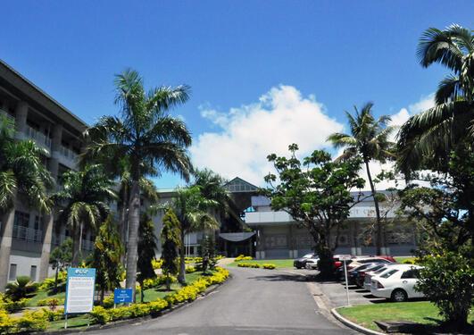 Campus på University of the South Pacific på Fiji