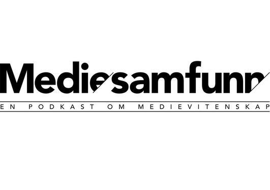 Logoen til podkasten Mediesamfunn