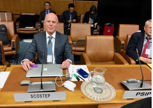 Nikolai Østgaard i FN
