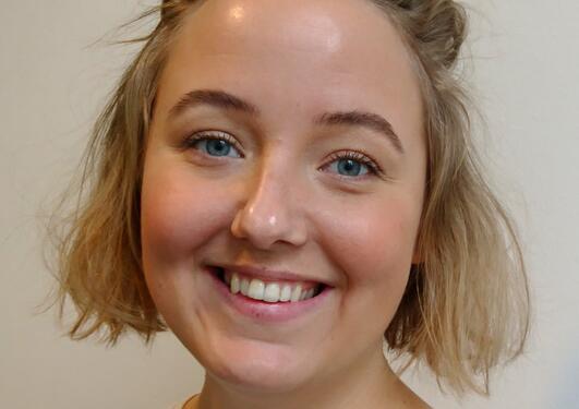 Portrett Charlotte E. Nybråten