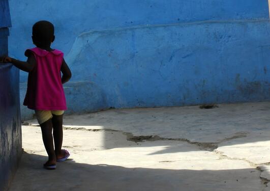 african child local community