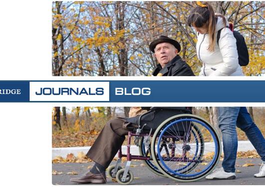 Blog illustrasjon - rullestol og tekst