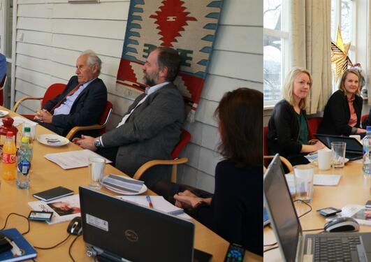 Helsebyråd Rebekka Ljosland besøker SEFAS