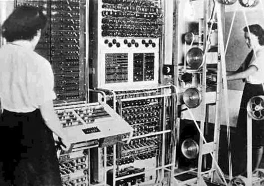 Colossus code-breaking machine https://commons.wikimedia.org/wiki/File:Colossus.jpg