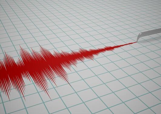 Foto av jordskjelvmåler