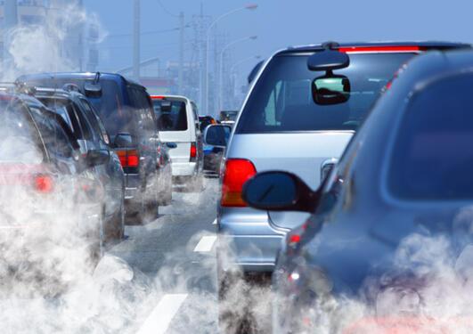 Biler som forurenser
